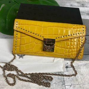MCM golden mango large wallet purse bag crossbody